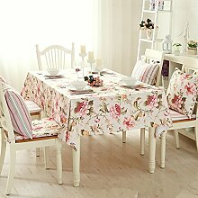 Bbdsj Home tischdecke,Moderne familie floral