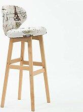 BBG Mode Kreative Kleinmöbel Hocker Massivholz