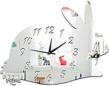 BBH.LEE Cartoon Animal Spiegel Aufkleber_Kinderzimmer Deko Wandspiegel, Dinosaurier
