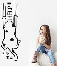 BBH.LEE Lustig Hund Scratch Aufkleber Kinder