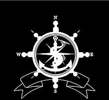 Bbnnn 17 5cm * 18cm mode meer helm flagge symbol