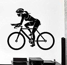 Bbnnn Wandaufkleber Wandaufkleber Sport Fahrrad