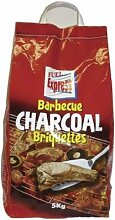 BBQ Barbecue Fuel Express Holzkohle Briketts