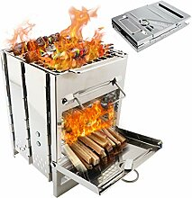 BBQ Lagerfeuer Grill Herd Lager Faltbare Feuer