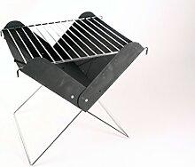 BBQ Mini Klappbarer Klappgrill Faltgrill Faltbarer Camping Picknick Kohle Grill