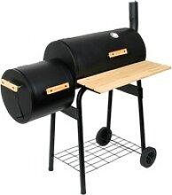 BBQ-Toro BBQ Smoker Grill  Holzkohle Grillwagen,