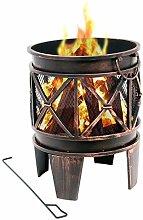 BBQ-Toro Feuerkorb Plum | Ø 42 x 52,5 cm |
