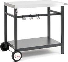 BBQ-Toro Grillwagen 85x50x81 cm Beistelltisch