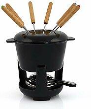 BBQ-Toro Gusseisen Fondue Set für 6 Personen