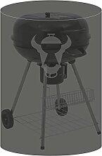 BBQ-TORO Kugelgrill Premium Abdeckhaube, Ø 66 x (H) 90 cm, passt ideal zu Weber Grill Ø 47 - 50 cm, uvm., Abdeckung, Schutzhülle, Schutzhaube, Grillhaube