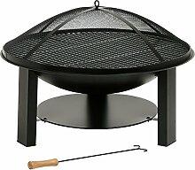 BBQ-TORO Massive Feuerschale aus Gusseisen,