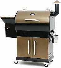 BBQ-Toro Pellet Smoker Grill PG1   vollautomatisch