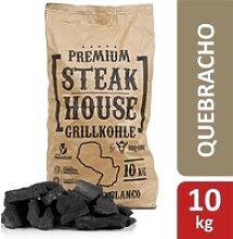 BBQ-Toro Premium Steak House Grillkohle  10 kg