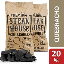 BBQ-Toro Premium Steak House Grillkohle  20 kg