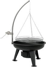 BBQ-TORO Schwenkgrill, Holzkohle Grill Ø 64 cm