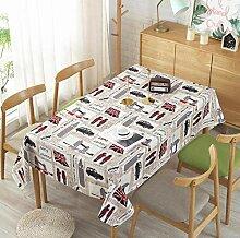BBQBQ Rechteckige Tischdecke Moderne
