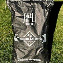BBQKontor 10kg (1x10kg) Premium Buchenholzkohle -