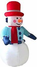 BBQQ Aufblasbares Ringwurfspiel Santa Christmas