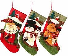 BBQQ Fashion Christmas Socks Geschenktüte