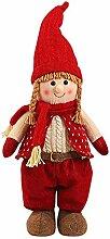 BBQQ Handmade Santa Cloth Doll Geburtstagsgeschenk