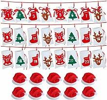 BBQQ Weihnachtskalender 24 Tage Countdown