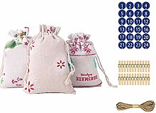 BBQQ Weihnachtsmuster Candy Bag 1-24