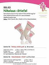 BBS 401 Schnittmuster für Nikolaus-Stiefel - mit