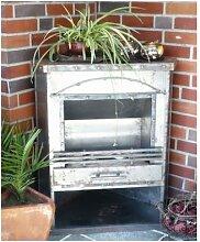 BBT@ / Eck Terrassenofen Mexico / Gelkamin Ethanolkamin / Für Brenngel oder Bio-Ethanol / BBT-10001080 / Echtes Kamin-Feuer ohne Rauch, Asche oder Staub