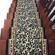 BBYE Extra Dicke Anti-Rutsch-Teppich Matten Haushalt Rechteck Massivholz Selbstklebende Treppenstufen Pads ( farbe : 1 Piece , größe : B-80*24cm )