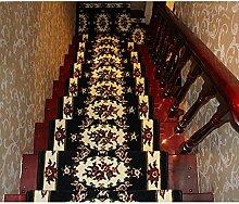 BBYE Extra Dicke Massivholz Treppe Teppich Free Adhesive Selbstklebende Haushalt Anti-Rutsch-Step-Pad ( farbe : 20 Pieces , größe : 65*24cm )