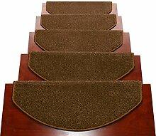 BBYE Extra Dicke Treppe Teppich Free Adhesive Selbstklebende Anti-Rutsch-Massivholz Haushalt Step Pad ( farbe : # 4 , größe : 90*24cm-B )