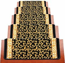 BBYE Haushalt Extra Dicke Massivholz Treppe Teppich Free Adhesive Selbstklebende Anti-Rutsch-Step-Pad ( farbe : 10 Pieces , größe : 80*24cm )