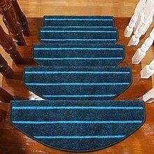 BBYE Haushalt Extra Dicken Anti-Rutsch-Teppich Matten Massivholz Selbstklebende Treppenstufen Pads ( farbe : 10 Pieces , größe : B-65*24cm )