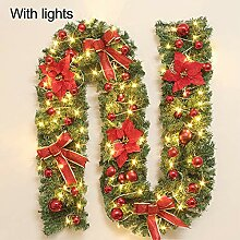 Bcamelys Weihnachts Girlande, Weihnachts LED Deko,