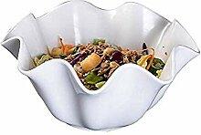 Bcanju Frühstück Keramik Geschirr, Obst und