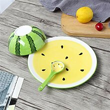 Bcanju Schüssel Kreative Frucht aus Porzellan