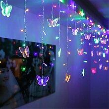BCKAKQA Lichterkette 1,5 m x 0,5 m 48 LED