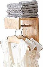 BCX Kleiderhaken für Wandhalterung, Wandmontage