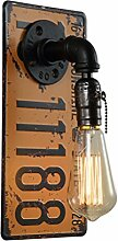 BCYEM E27 Wandleuchte Retro Metall Wandlampe