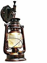 BCYEM Retro Wandlampe Metall Vintage Wandleuchte