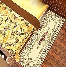 bd jfew Europäische einfachen rechteckigen Wolldecke Pad für Schlafzimmer, Bett, Küche, Korridor, Gang Matte, Teppich, Multicolor Optional Bereich Wolldecke (Farbe: C, Größe: 1,0 * 1,5 m)