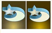 Bdeng Lampe Star Moon Kinderzimmer Deckenleuchte