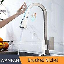 BDWS Elektrischer Wasserhahn, Küchenarmatur mit