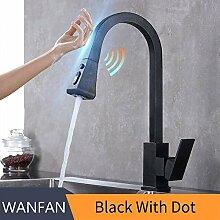 BDWS Elektrischer Wasserhahn, Küchenhahn mit