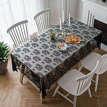 Be&xn Rechteck Lace Tablecloth, Wiederverwendbarer