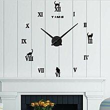 Be82aene Wanduhr Haus & Küche Uhr mit Home Office