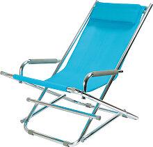 Beach Chair - Liegestuhl - Blau