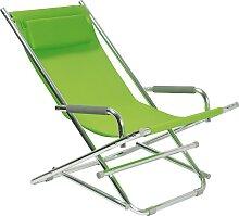 Beach Chair - Liegestuhl - Grün