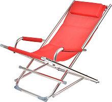 Beach Chair - Liegestuhl - Rot