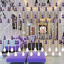 Bead Türvorhang- Perlen Vorhang Wohnzimmer